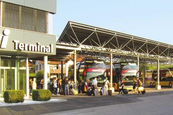 Départ du Car Terminal Marti