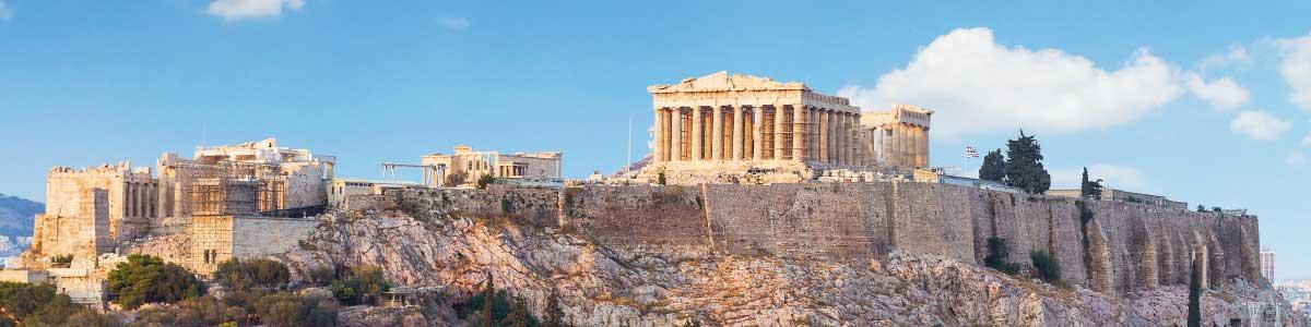 Le circuits Marti à l'Acropole à Athènes