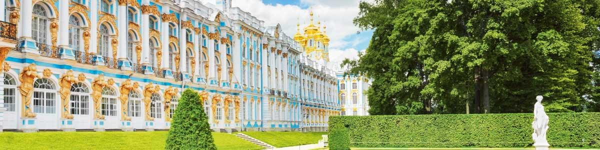 Circuits en Russie Palais Pouchkine