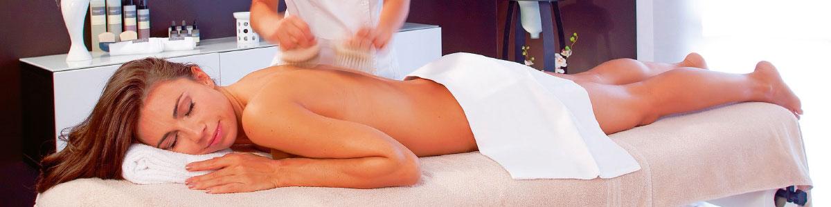 Massage pendant des vacances cure