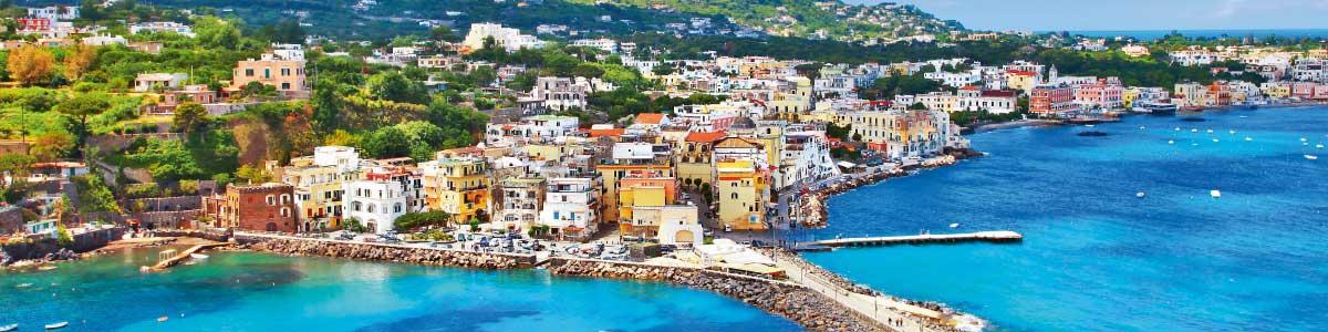 Vacances cure sur l'île Ischia