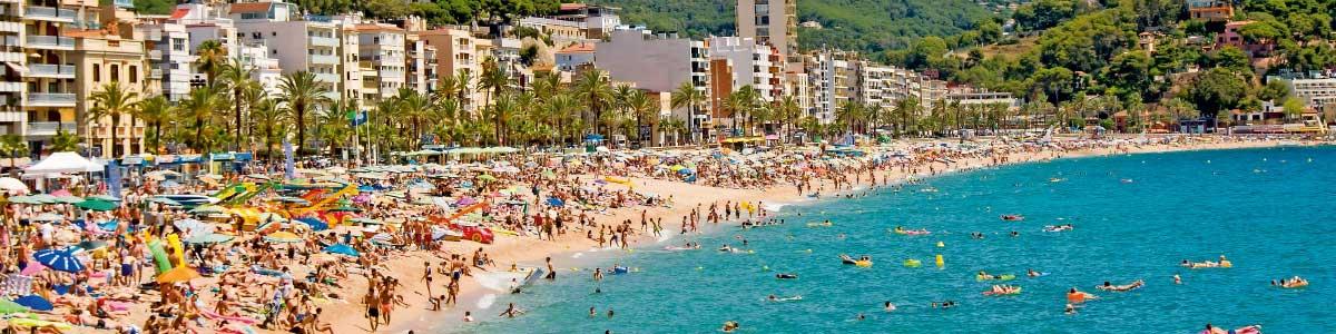 Vacances plages à Lloret de Mar