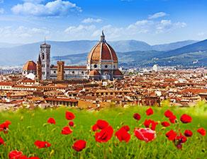 Bedeutende Städte der Toskana