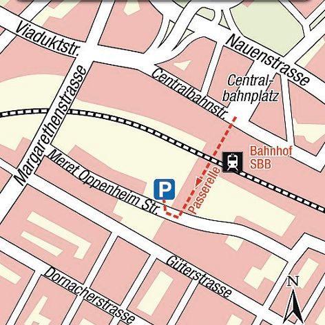 Basel Karte